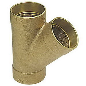 Nibco 810 Cast Bronze Copper Wye Fitting 1 1 2