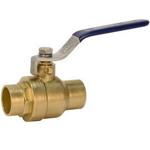 Nibco S fp 600a Forged Brass2 Full Port Ball Valve 1 1 4