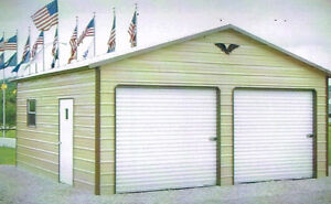 Garage 22 X 26 X 8 Priced From Tx va Free Delivery And Installation