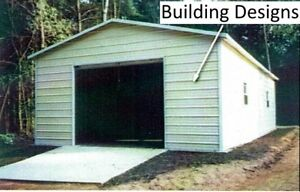 Garage 22 X 31 X 11 W 10x10 Door All Steel Free Install pick up Avail