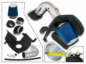 Bcp Blue 03 07 Dodge Ram 2500 3500 5 9 L6 Diesel Heat Shield Cold Air Intake Kit