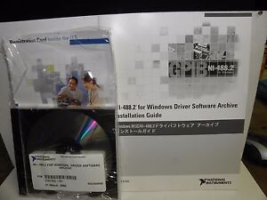 National Instruments Ni 488 2 For Windows Driver Software Archive