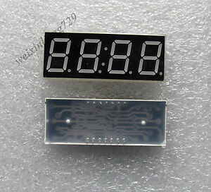 50pcs 0 56 Inch 4 Digit Led Display 7 Seg Segment Common Cathode Red Clock