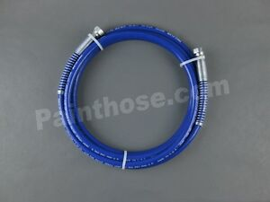 Airless Paint Spray Hose 3300psi 1 4 X 15ft Blue Same As 223756
