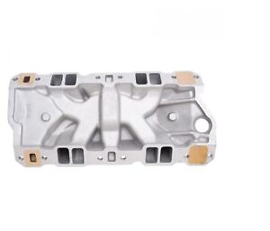 Edelbrock 2506 Performer Rpm Series Marine Intake Manifold For Chevy Small Block