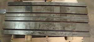 47 25 X 20 X 5 Steel Weld T slotted Table Cast Iron Layout Plate Weld Jig