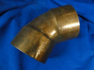 Nibco Large Copper 45 Degree Elbow 5 Inch Free Priority Shipping