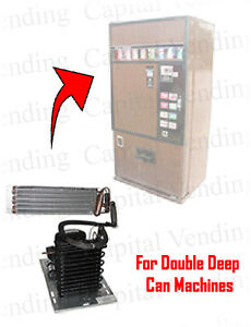 Refrigeration System For Double Deep Ardac Vending Machines
