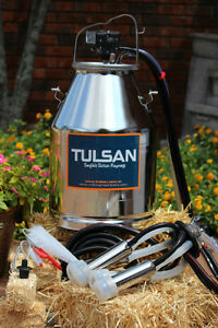 Dairy Cow Milker Milking Bucket Tank 304 Stainless Steal By Tulsan Ce