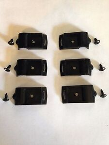 Set Of 6 Side Headliner Clips With Screws G Body