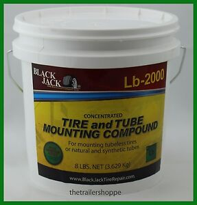 Blackjack Heavy Duty Tire And Tube Mounting Lube Compound Paste 8 Lb Pail
