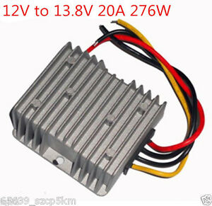 New Voltage Booster Power Dc Converter Step Up Regulator 12v To 13 8v 20a 276w