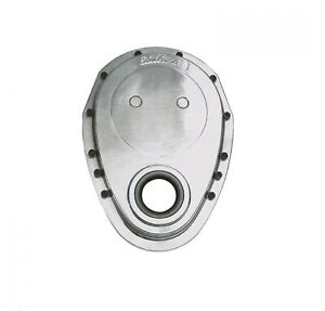 Edelbrock 4240 Aluminum Timing Cover For Small Block Chevy