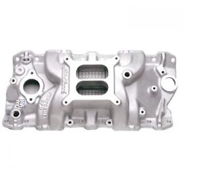 Edelbrock 7101 Performer Rpm Intake Manifold For 262 400 Sb Chevy V8