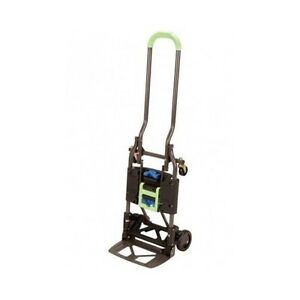 Folding Hand Truck Foldable Cart Dolly Moving Utility 300 Lb Capacity Portable