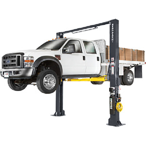 Bendpak 12 000 Lb 2 Post Heavy Duty Clearfloor Drive On Truck Car Lift Xpr 12cl