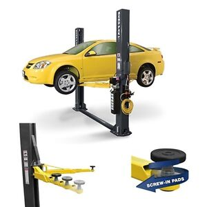 Bendpak Two Post Car Lift 9000 Lb Capacity Low Profile Arms Xpr 9s Lp