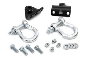 Rou 1048 Rough Country D ring Kit For 93 98 Jeep Zj Grand Cherokee Winch Mount
