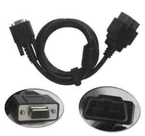 New Obd2 Cable For Diagnostic Tool Chrysler Witech 16pin Obd Ii Cable