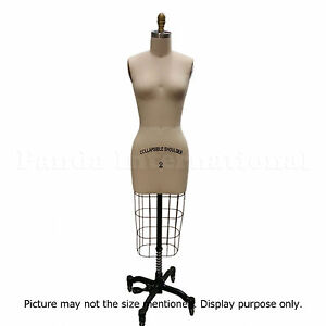 Professional Sewing Dress Form Size 8 Dressform Manequin High Quality