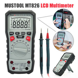 Mustool Mt826 True Rms Professional Digital Multimeter Ac dc Current