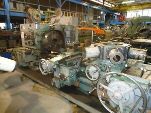 3a Warner Swasey Saddle Type Turret Lathe Cross Sliding Turret 1983 6 Hole