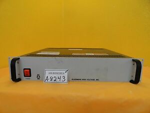 Glassman Ps er06n25 0yz4 6kv Power Supply Amat 9090 00473itl Used Working