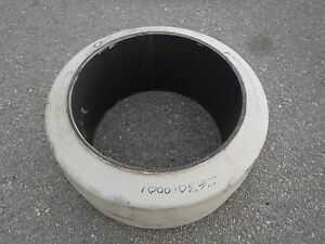 Pro Tire Super Solid Forklift Tire 22x10x16 06655002 White Heavy Equipment