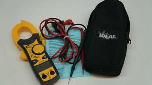 Ideal 61 746 Clamp Pro True Rms Clamp Meter 600amp W lead Wires