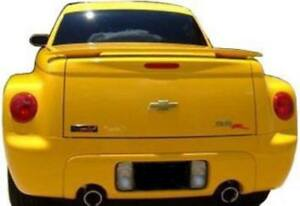 New For Chevrolet Ssr Painted Any Color Abs Spoiler Wing 2003 2004 2005 2006