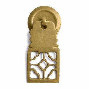 Cbh 2 Symmetrical Chinese Brass Cabinet Hardware Pull 2 5