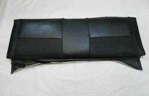 1965 1970 Mustang Fastback Rear Seat Upper Fold Down Back Top Black