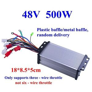 48v 500w Electric Bicycle E bike Scooter Brushless Dc Motor Speed Controller