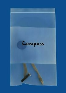 Clear Resealable Bags With White Block 6 X 8 2 Mil Writable Pouches 4000 Pcs