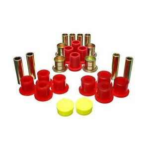 Energy Suspension 5 3139r Control Arm Bushing Set Red Front