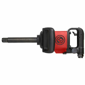 Chicago Pneumatic D handle Impact Wrench 1 Drive W 6 Ext Anvil 7773d 6