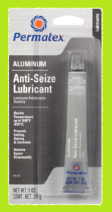 1oz Permatex 81343 Anti seize Lubricant Lube Grease Oil Spark Plug Marine Salt
