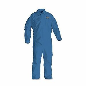 Kleenguard Protective Clothing Collared Coverall A60 Blue Large 24pk 45003 p9