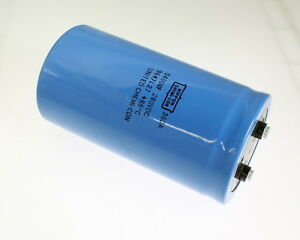 1x 5400uf 200v Large Can Electrolytic Capacitor 5400mfd 200vdc 5 400 Uf
