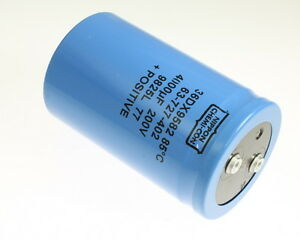 1x 4000uf 200v Large Can Electrolytic Capacitor 4000mfd 200vdc 4 000 Uf