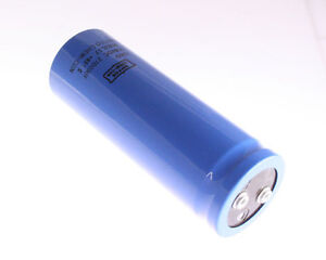 1x 27000uf 100v Large Can Electrolytic Capacitor 27000mfd 100vdc 27 000 Uf
