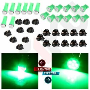 T5 T10 Green Led Instrument Cluster Dash Gauge Light Kits For Dodge Ram 1500