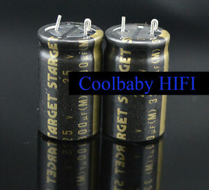 10pcs Japan Elna Silmic Ii Rfs Starget 25v 3300uf 16 30mm 85 Audio Capacitors