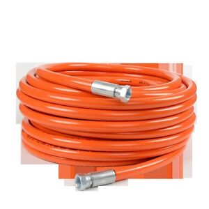 Titan High Pressure 3 8 X 50 Orange Airless Paint Spray Hose 4500psi Oem