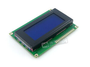 Lcd 16x4 1604 Character Lcd Display Module Lcm Blue Blacklight 5v New Y2