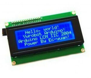 5pcs Blue Iic i2c twi sp i Serial Interface2004 20x4 Character Lcd Module Ca