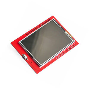 1pcs New 2 4 Tft Lcd Shield Touch Panel Module Tf Micro Sd For Arduino Uno R3