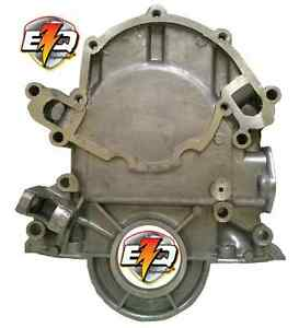 Ford 302 351w Timing Cover With Diptube Hole Fuel Pump Mount Fits 69 89