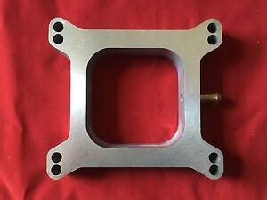 Open Spacer 4150 4160 Holley Carburetor 1 Afb Open Center 3 8 Vacum Tube