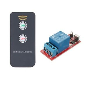 1 Channel Infrared Switch Relay Driving Module Board 12v Remote Controller Ca